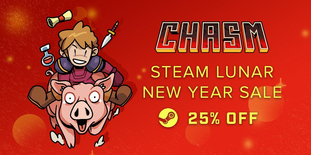 Steam Lunar New Year Sale – Bit Kid, Inc